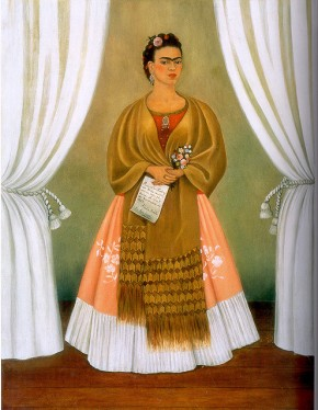 Frida Kahlo: Self-Portrait dedicated to Leon Trotsky, 1937