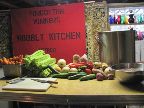 wobbly kitchen