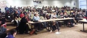 North Carolina students and youth convene, mountfightback