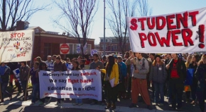 Student gathering to declare: 'Retaking our schools, remaking oursociety!'
